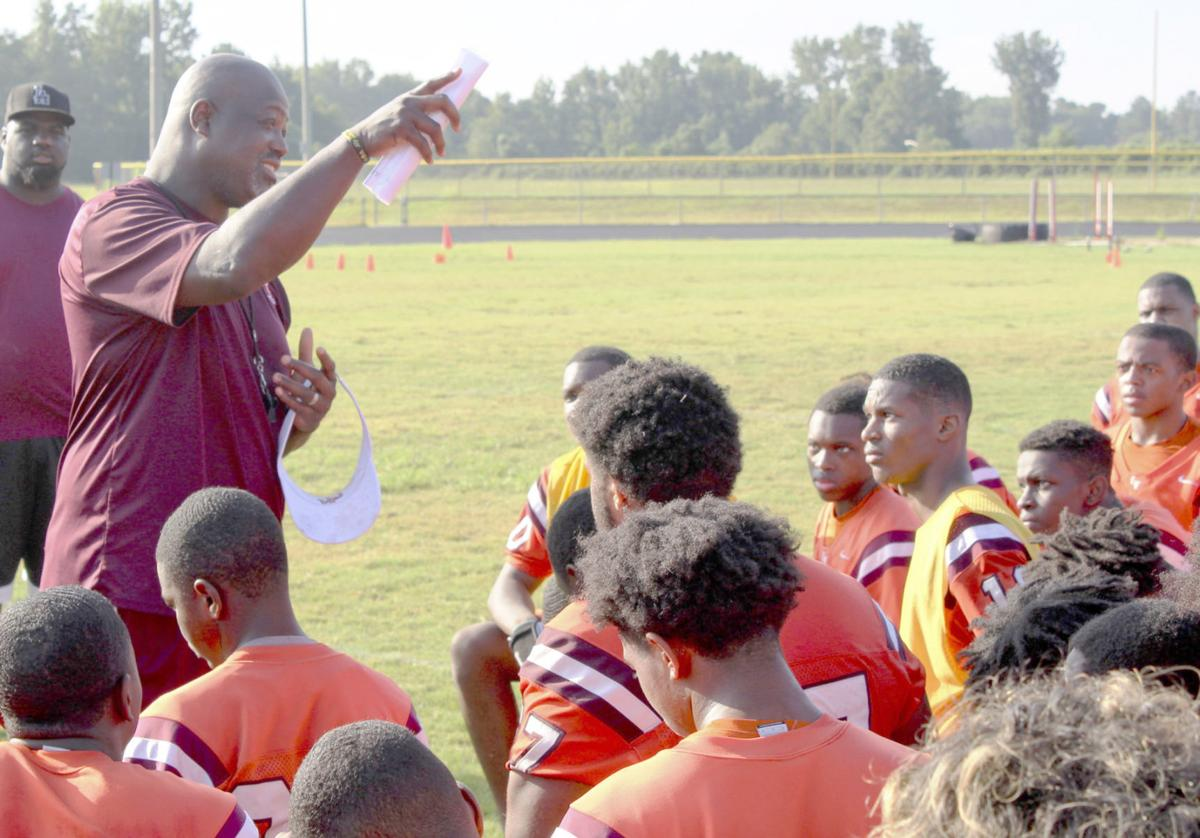 Crosby speaks at O-W's first fall practice