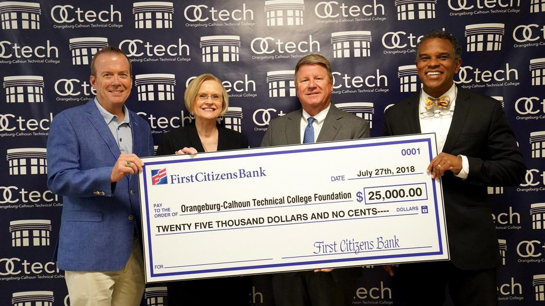First Citizens donates $25,000 to OCtech Foundation | Local