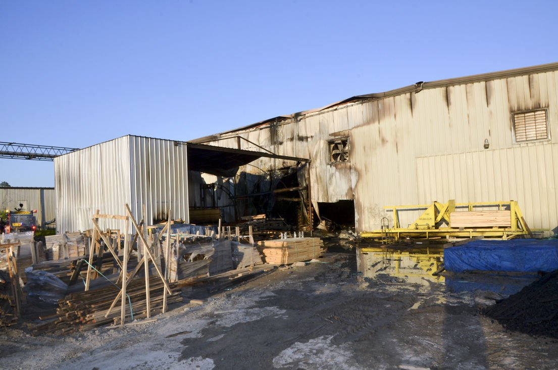North American Container fire