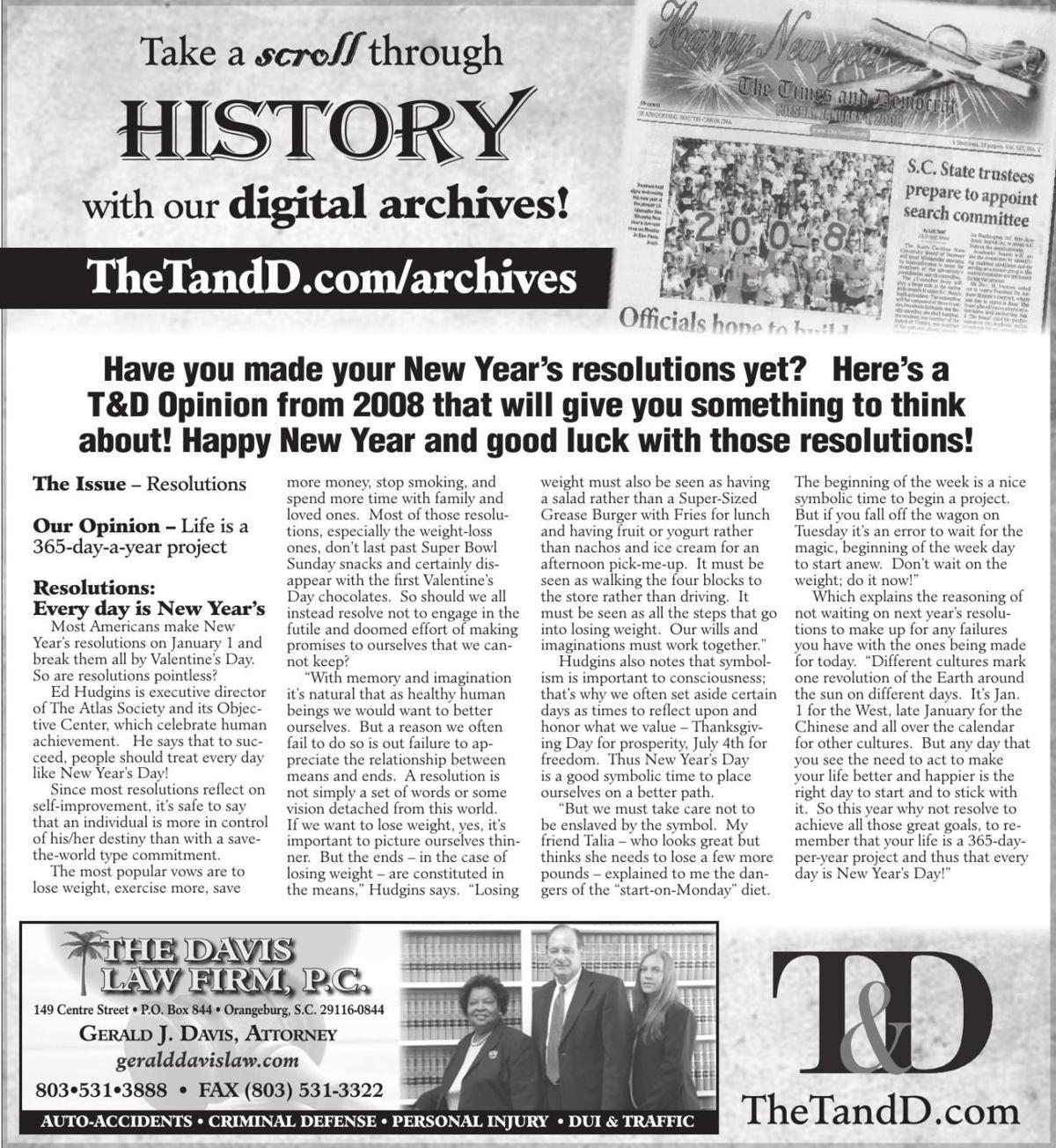 TheTandD.com/archives Dec. 29, 2019