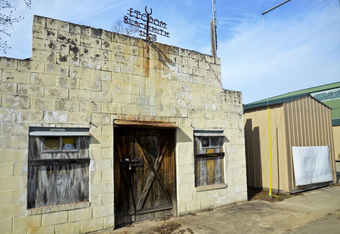 Vintage North Blacksmith shop