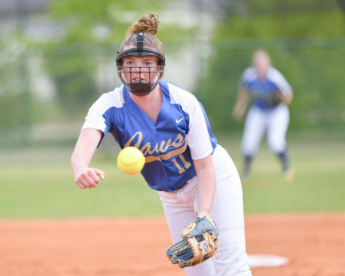 CA's Haigler pitches at state tournament