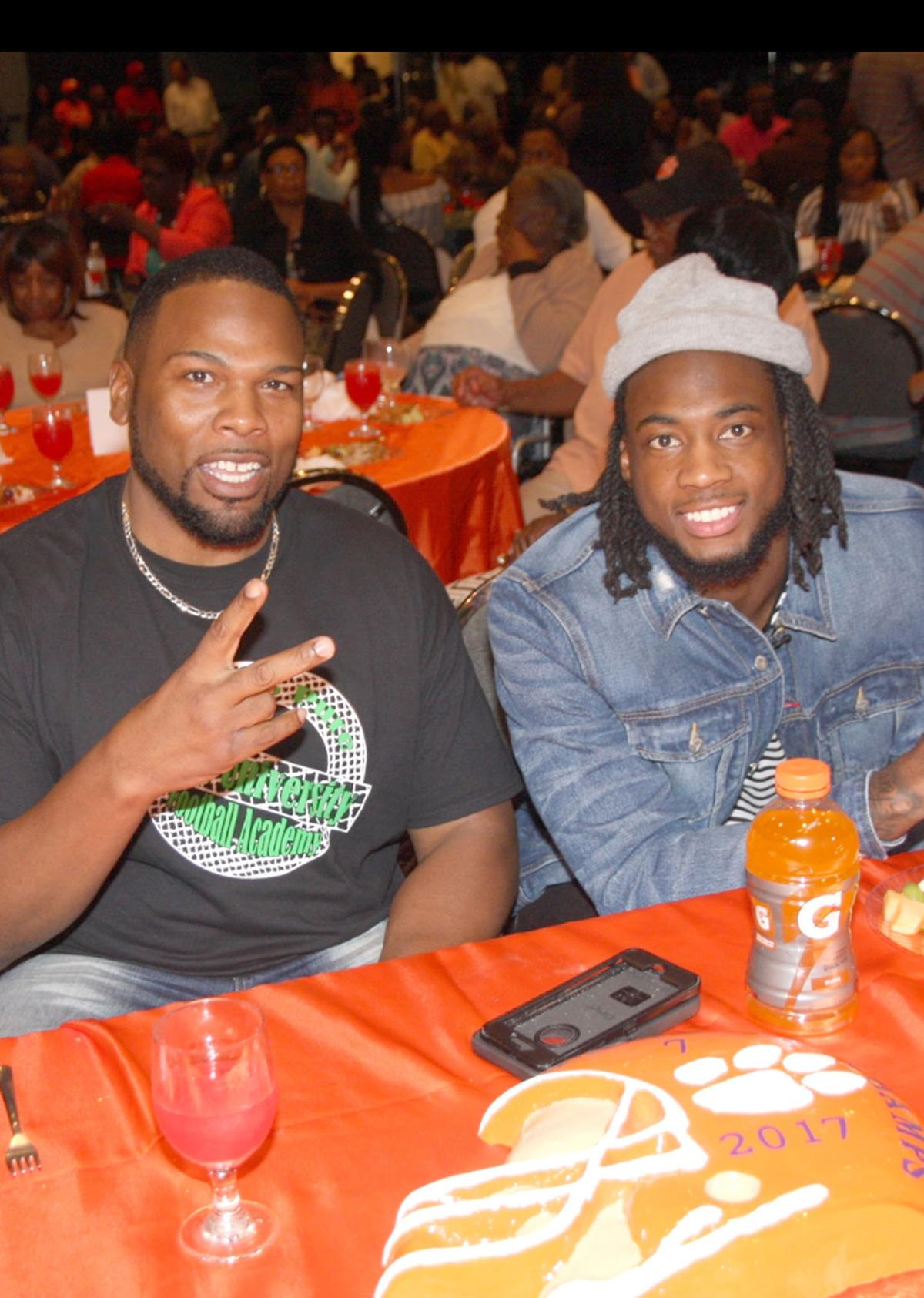 Chris Carter and Mike Williams