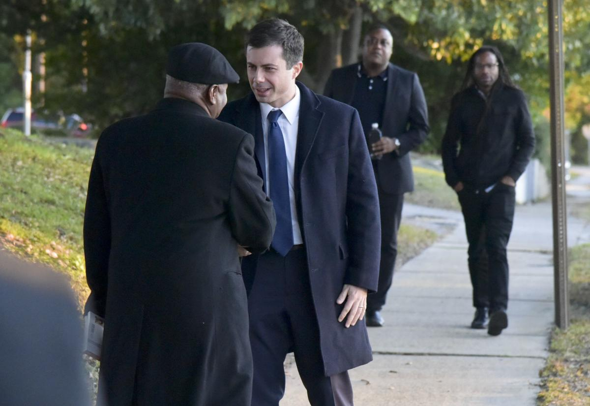 Mayor Pete tours S.C. State