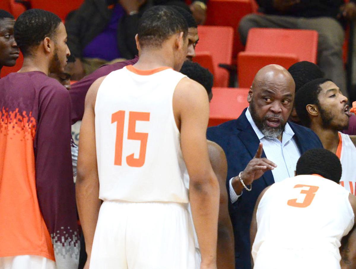 Claflin coach Ricky Jackson