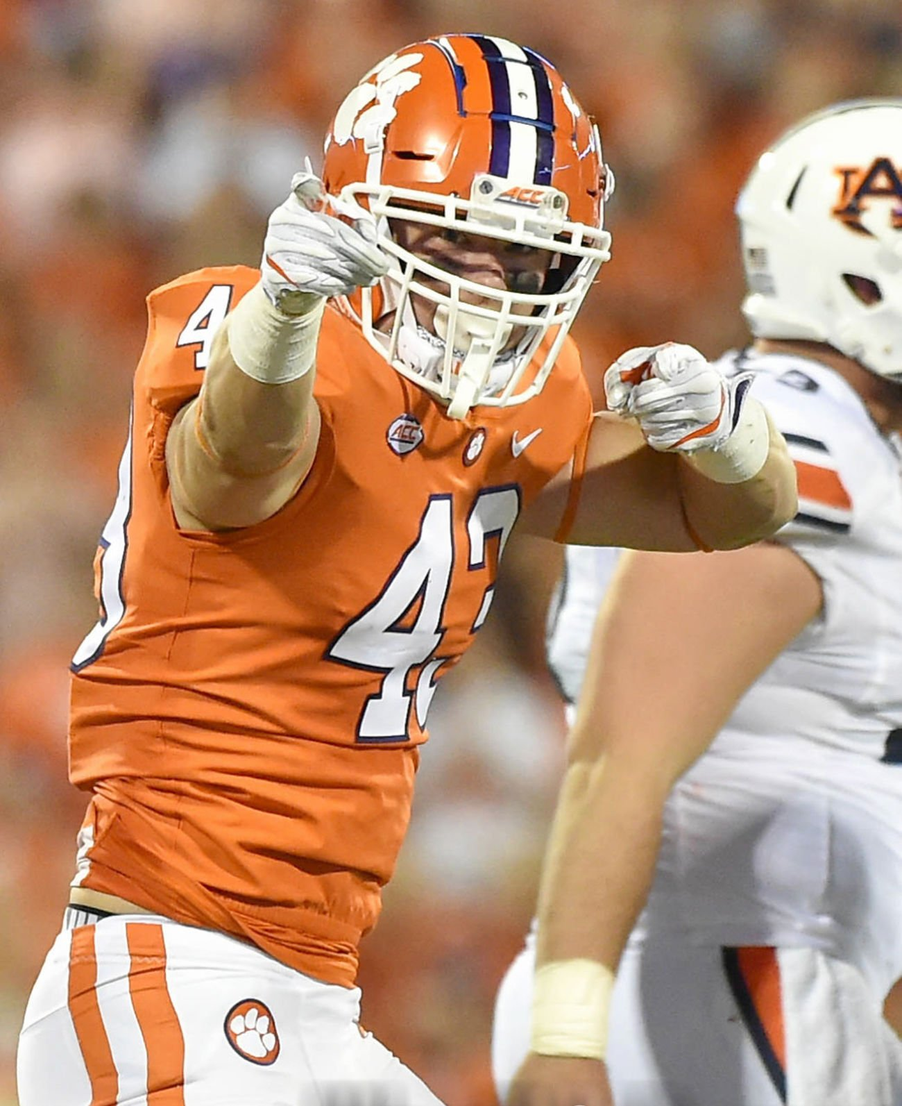 Defense keeps Clemson 2-0, with 14-6 victory over Auburn