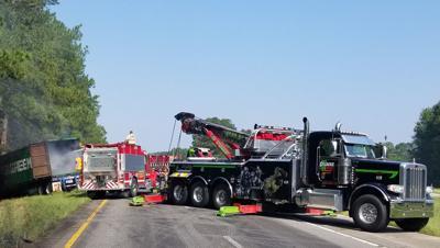 Truck driver killed in morning crash