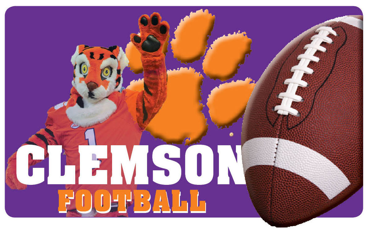 SPORTS LIBRARY, Clemson, football (copy)