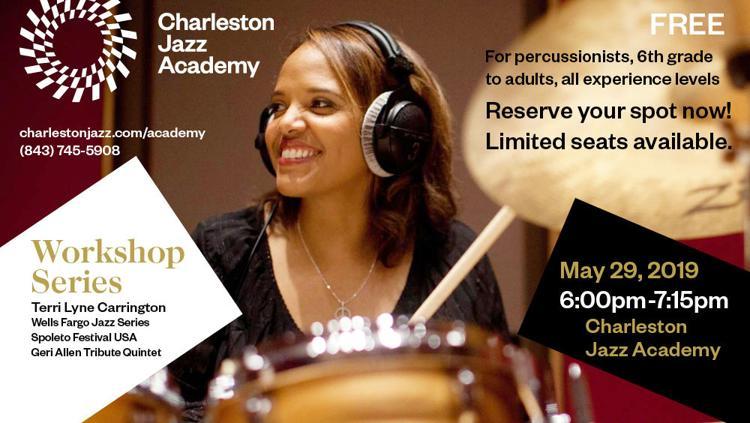 Charleston Jazz Academy Workshop Series: Terri Lyne Carrington