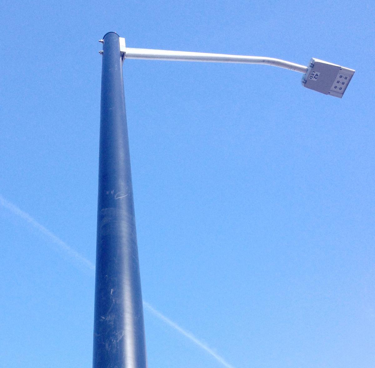 Street lights secondary