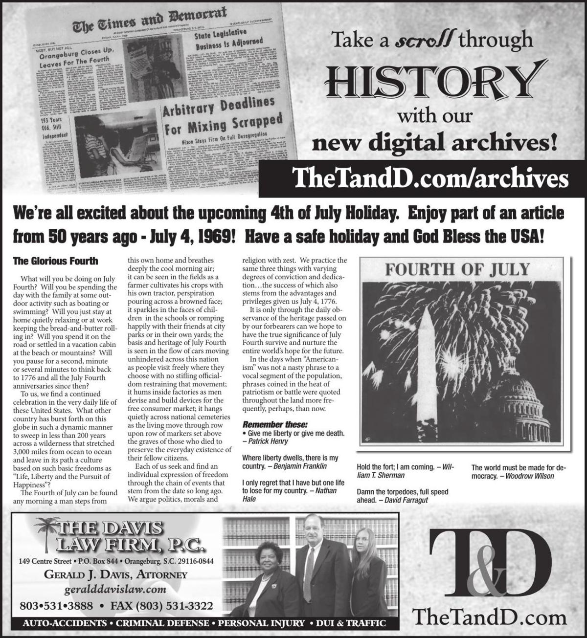 TheTandD.com/archives June 30, 2019
