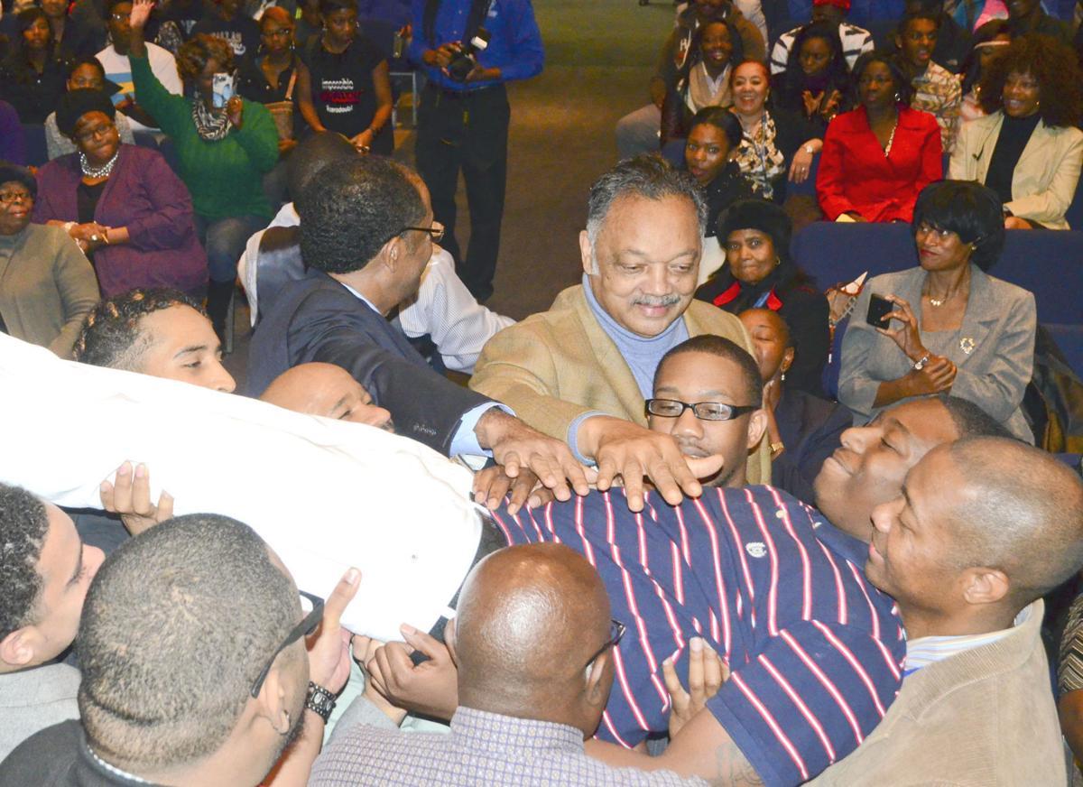 Rev. Jackson at Voorhees