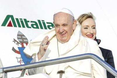 Italy Pope Africa