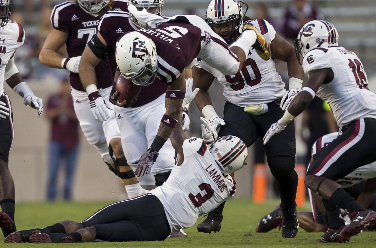 APTOPIX South Carolina Texas A M Football