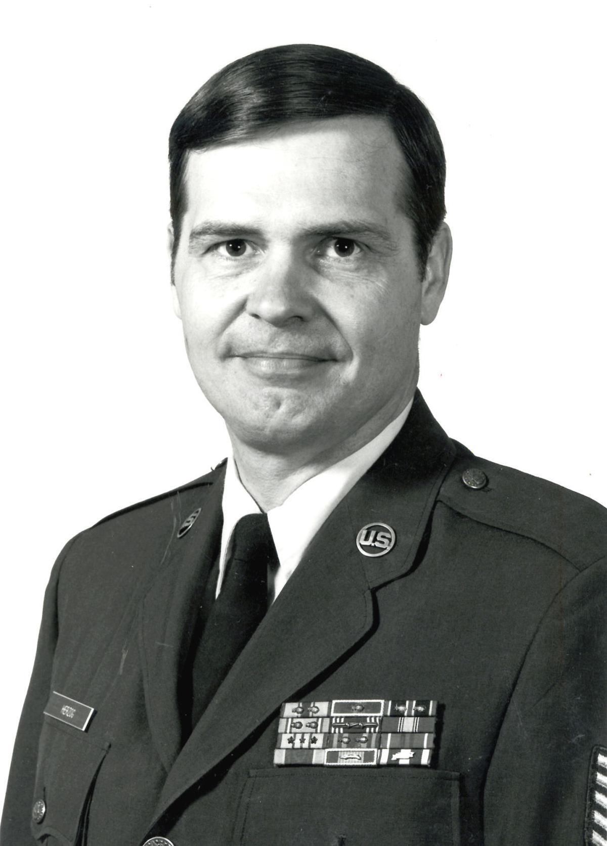 Phil Herzog in uniform