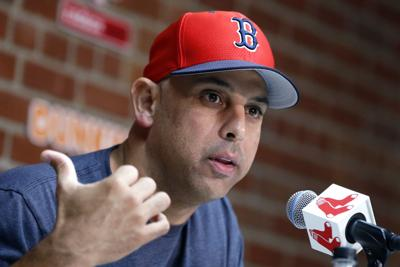 Red Sox Cora Fired Baseball