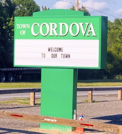 061919 cordova town sign LIBRARY