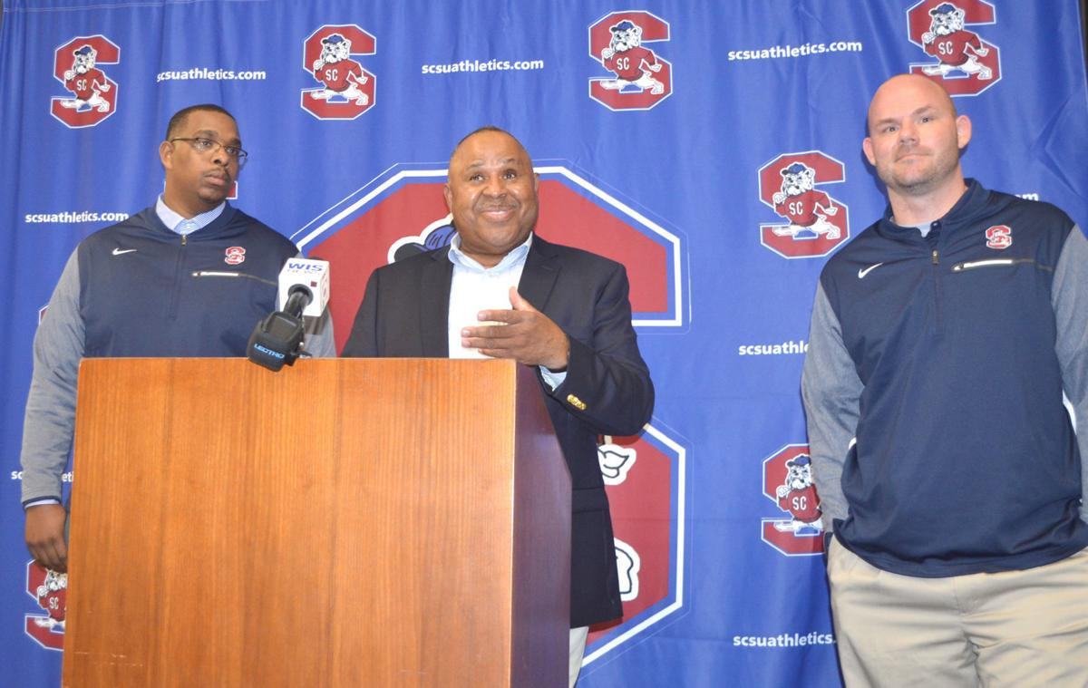 Buddy Pough and new coaches