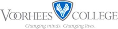 LIBRARY Voorhees College logo WEB