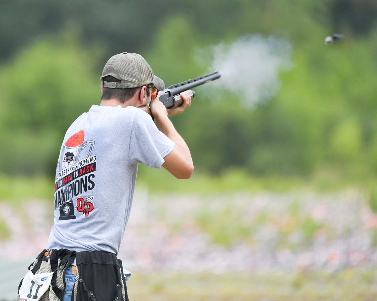 Gleaton competes for OPS shooting sports team