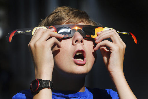 Special eclipse glasses selling out quickly