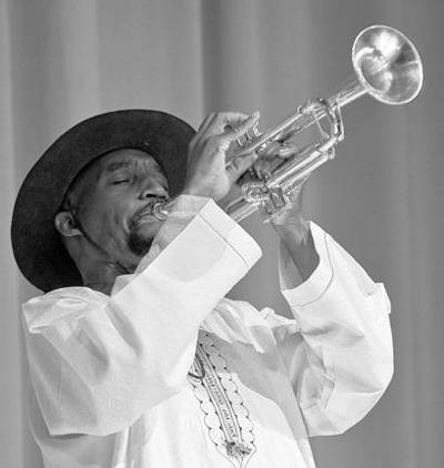 TRUMPETS & TREATS: Hydrick Gass serves up tunes