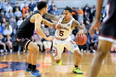 South Carolina Auburn Basketball
