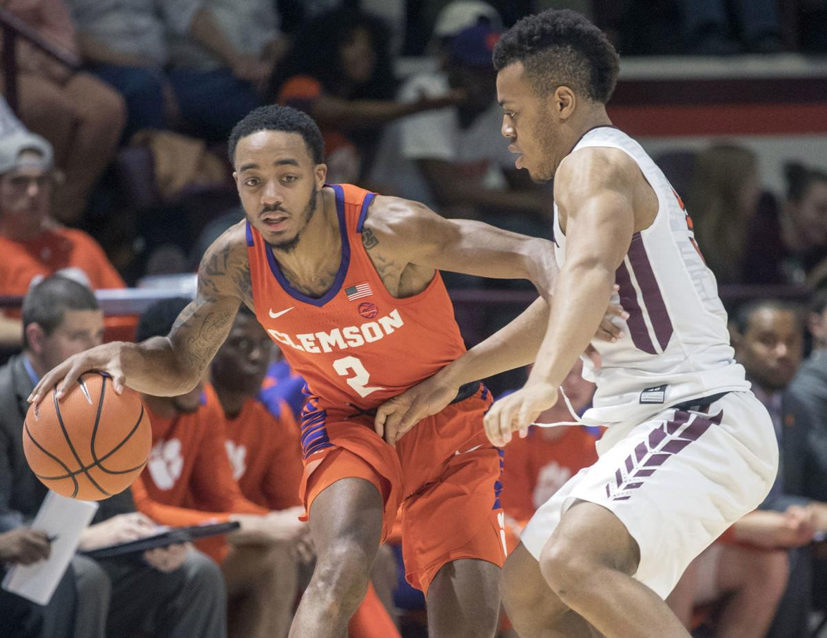 Clemson Virginia Tech Basketball