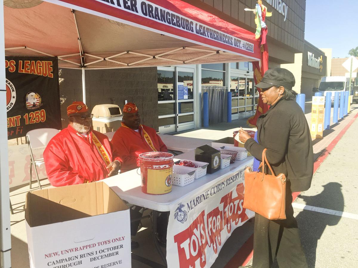Toys for Tots Launch