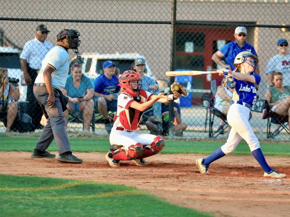 Lake View strikeout helps B-E softball