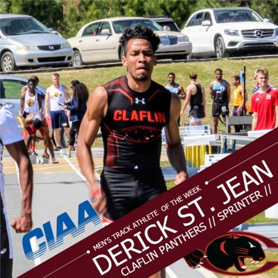 Derick St. Jean - Claflin track