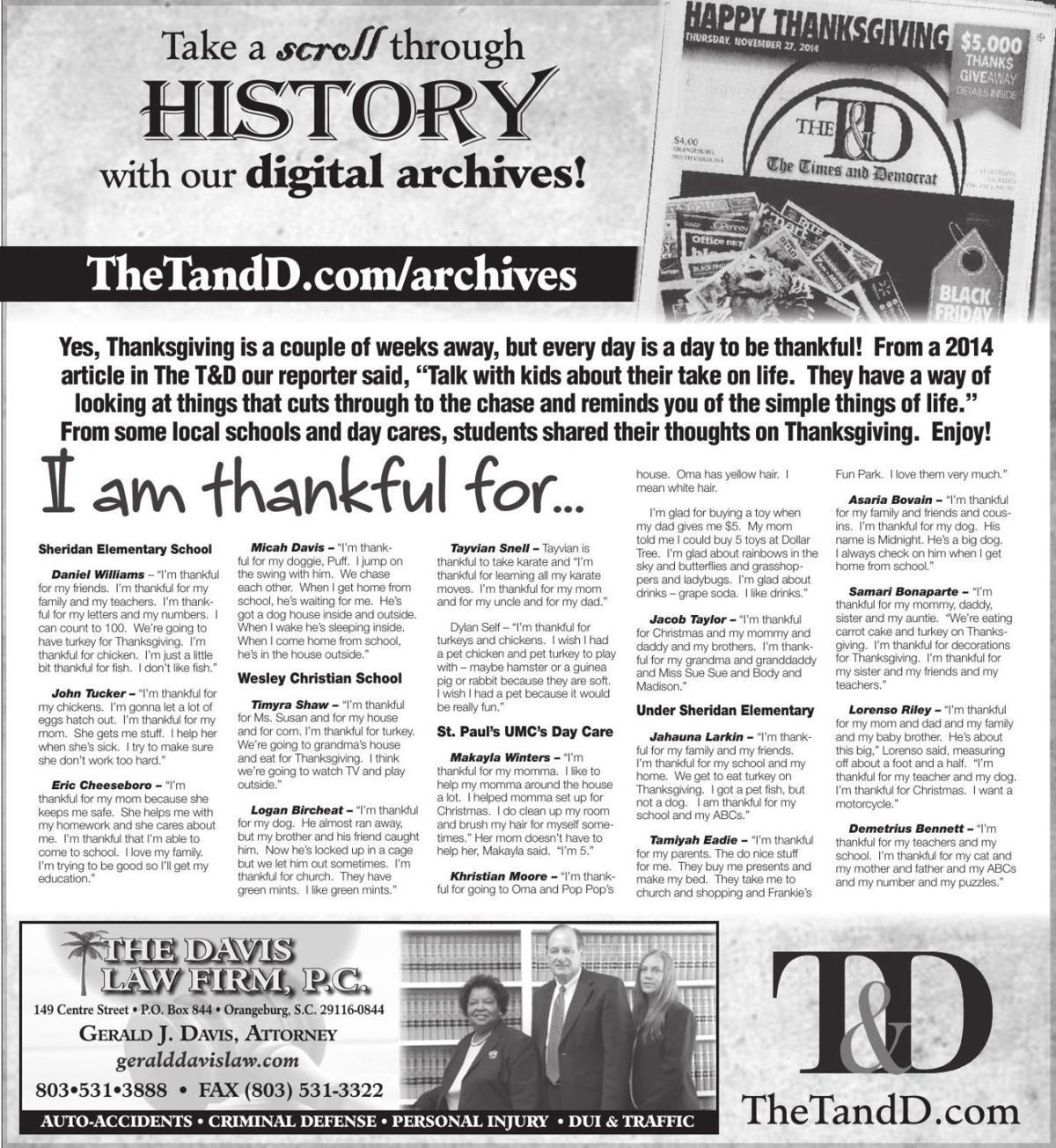 TheTandD.com/archives Nov. 17, 2019