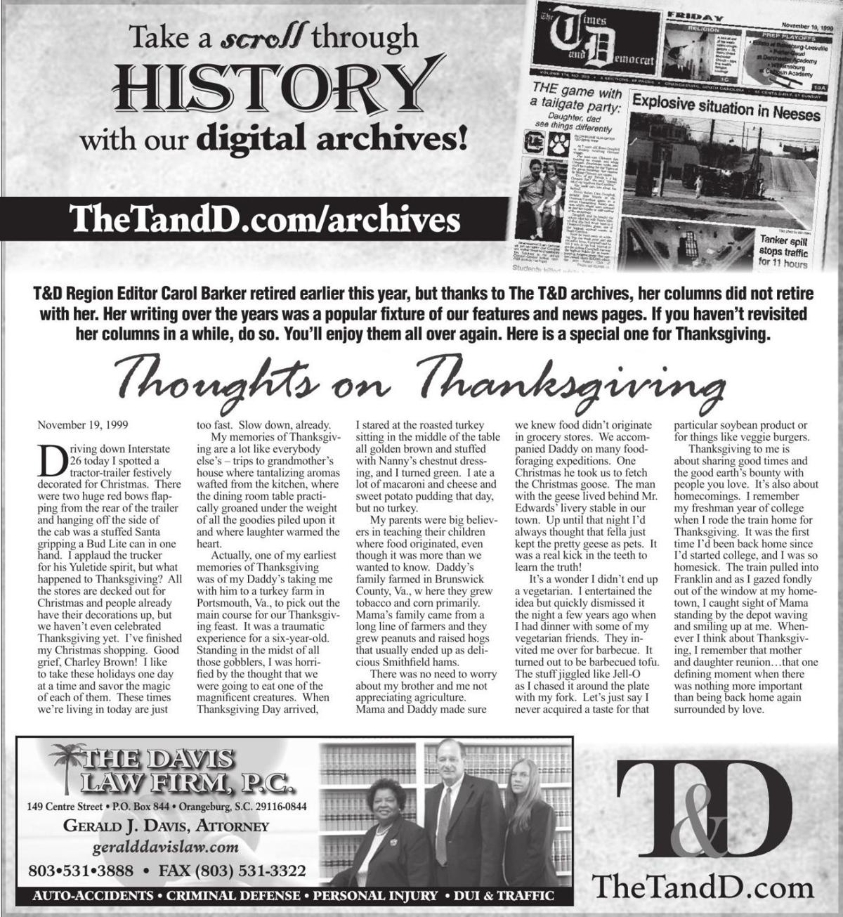 TheTandD.com/archives Nov. 24, 2019