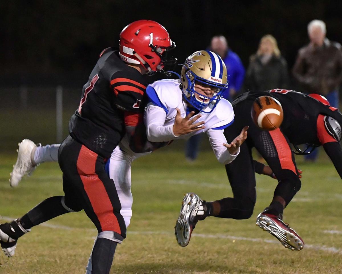 AJA tackle against CA