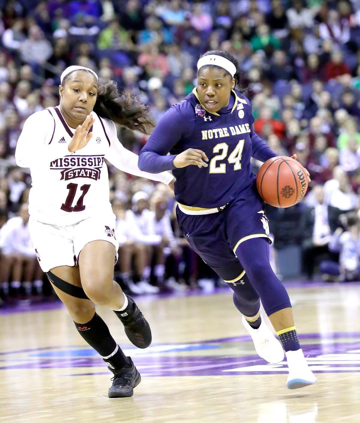 NCAA Championship Notre Dame Mississippi St Basketball