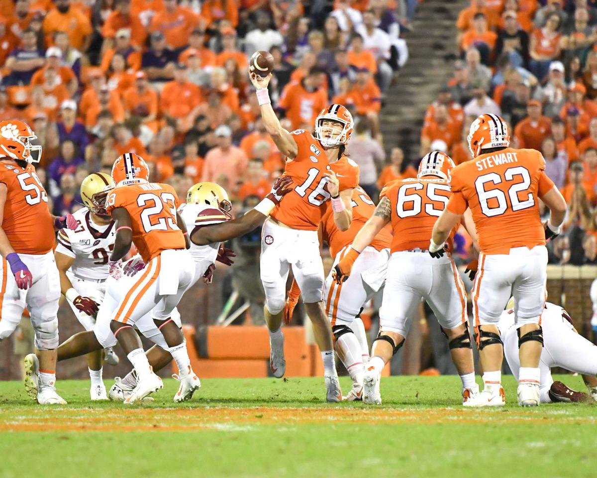 Clemson Football Tigers Crush Boston College In Homecoming