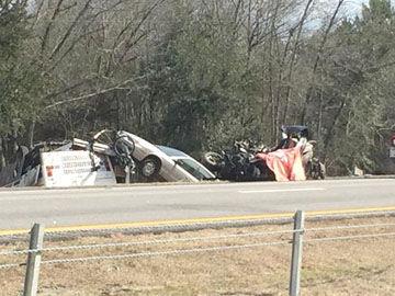 Interstate 26 crash-3 die
