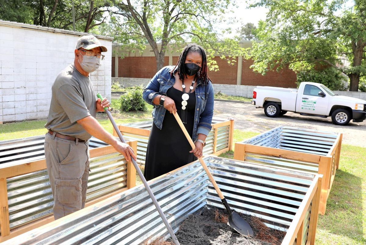 Samaritan House Garden Boxes