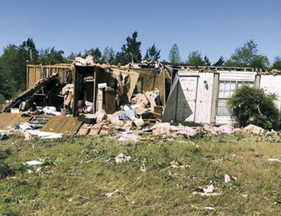 Storm hit homes on Ninety Six Road (copy)