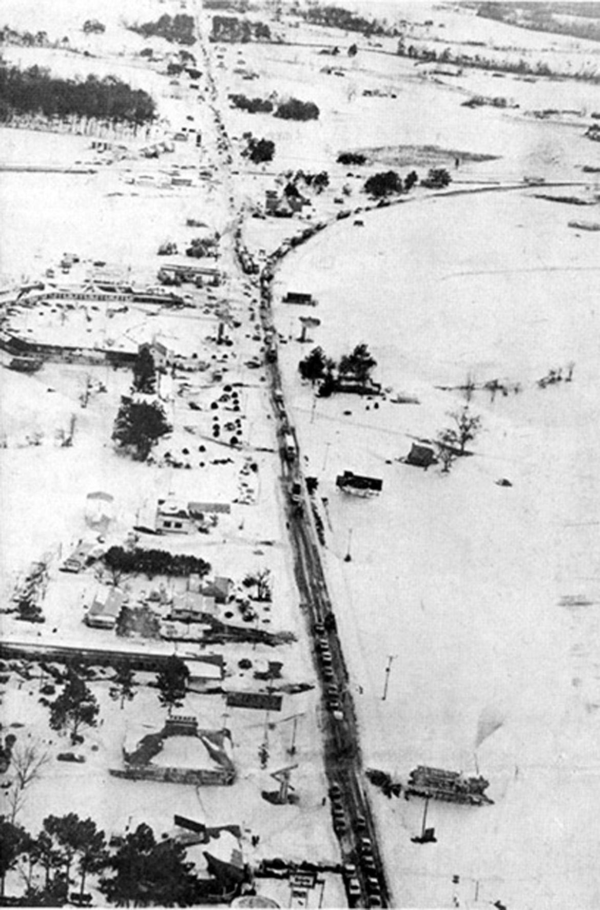 1973 snowfall in Santee