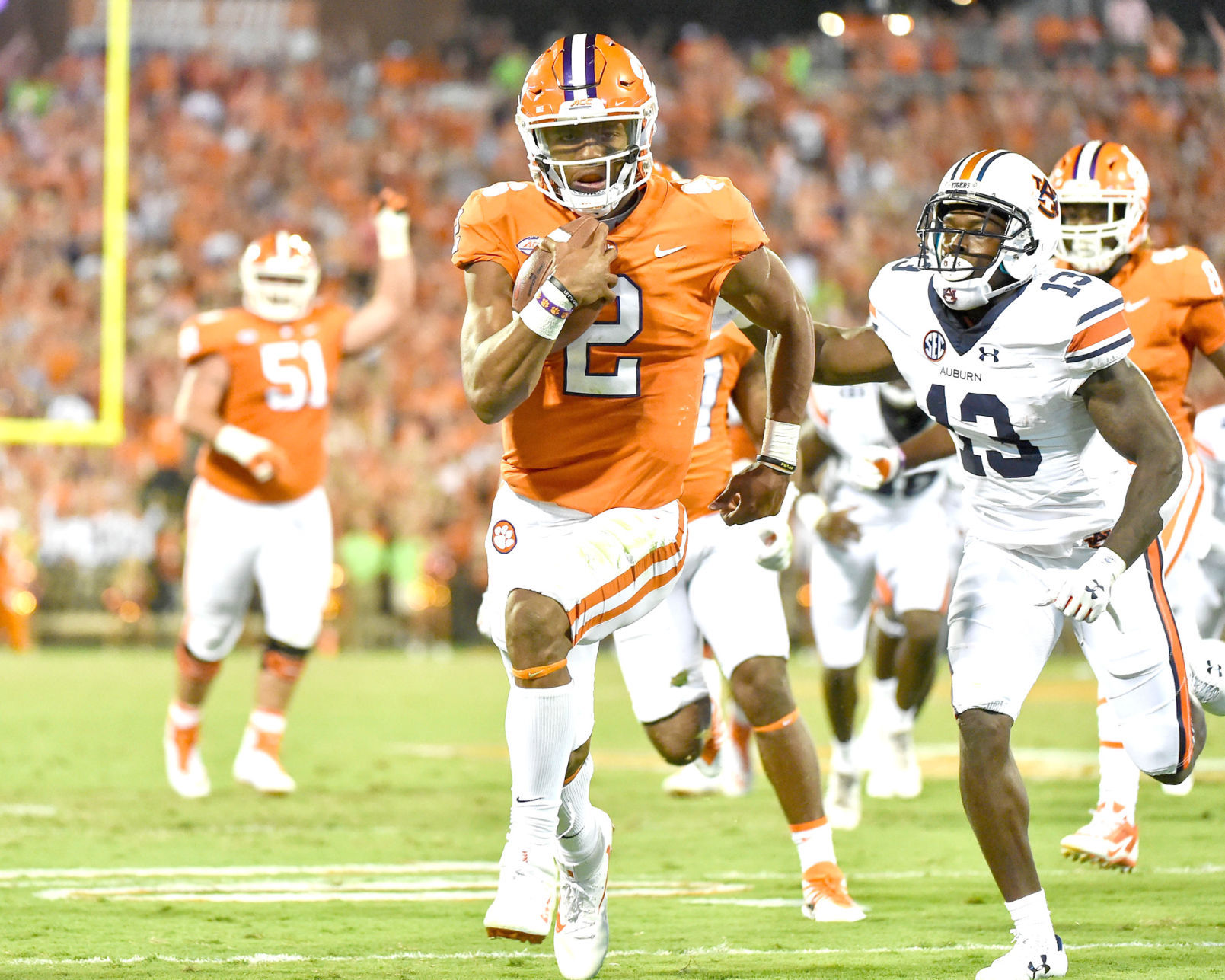 Clemson vs. Auburn not expected to be altered due to Hurricane Irma