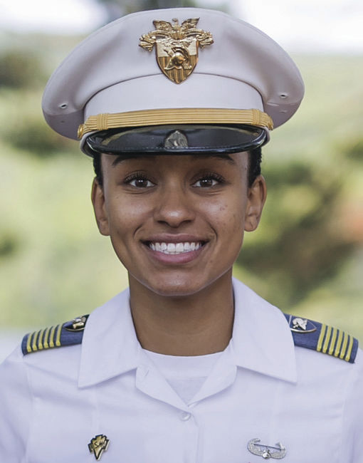 West Point Black Woman Cadet Leader