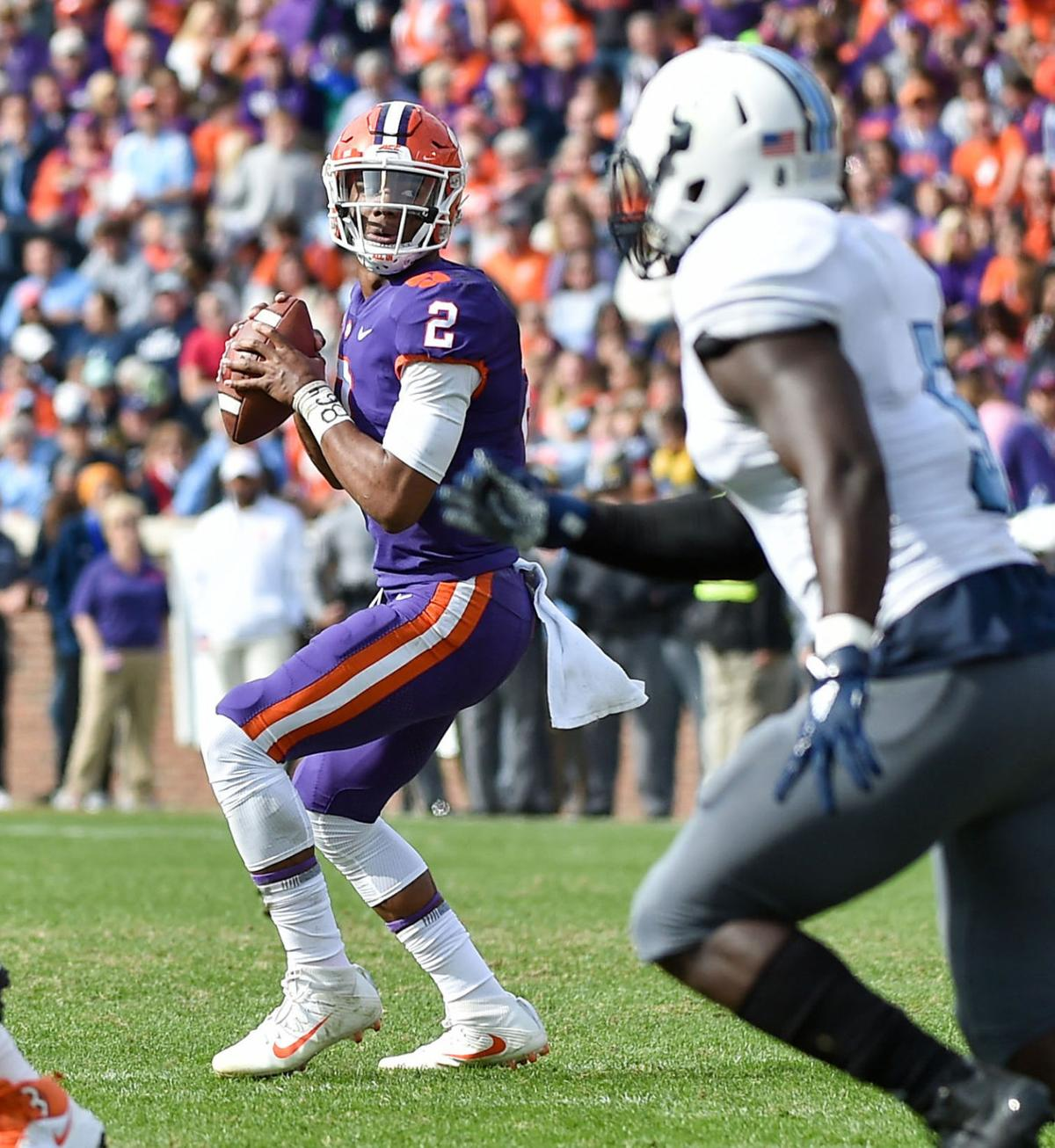 Kelly Bryant against The Citadel