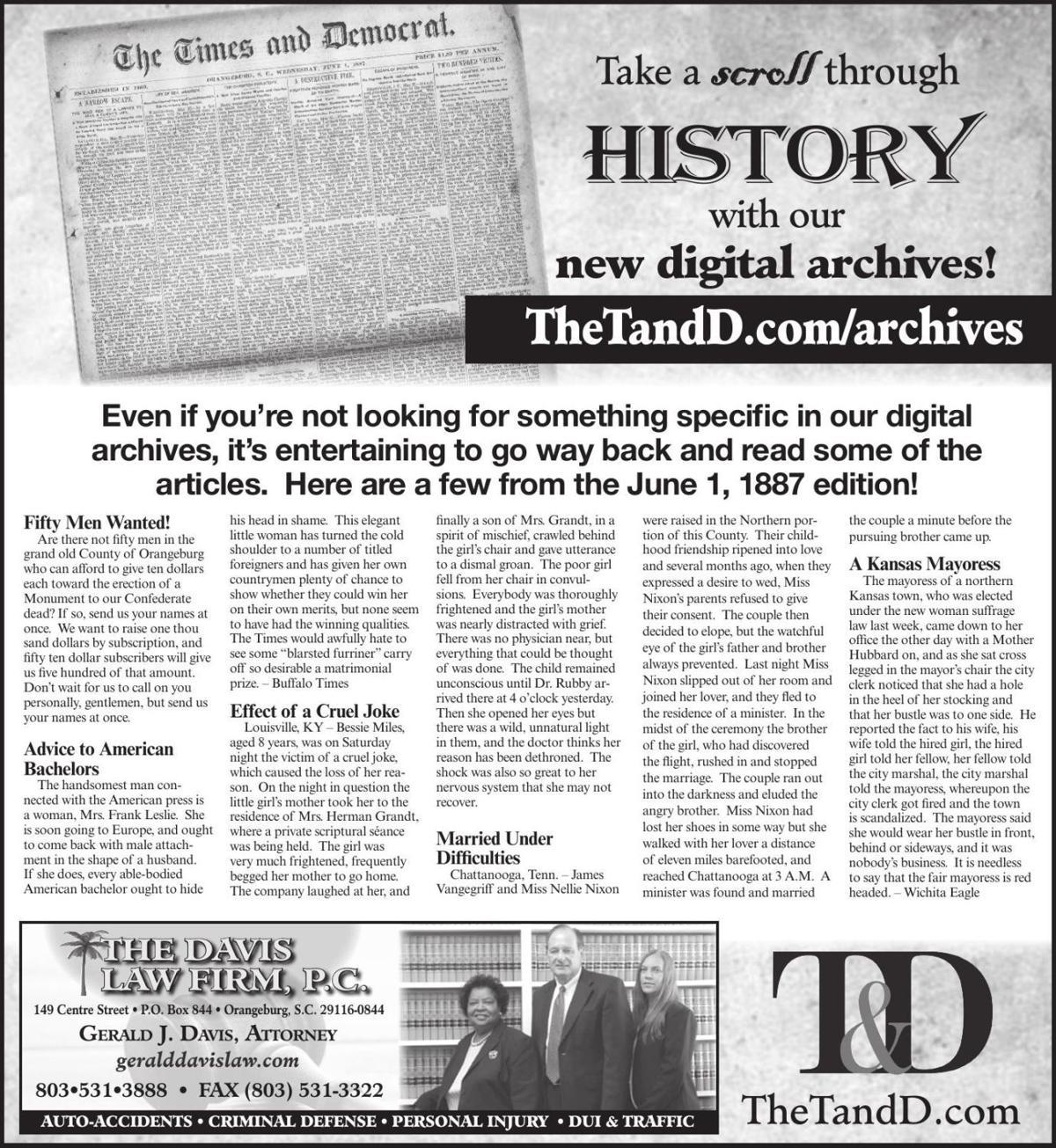 TheTandD.com/archives June 2, 2019