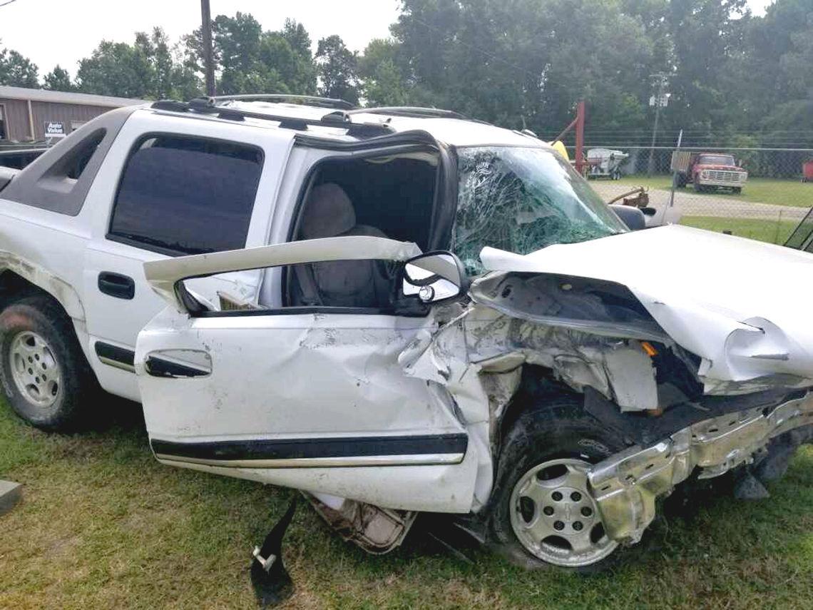 Ehrhardt crash