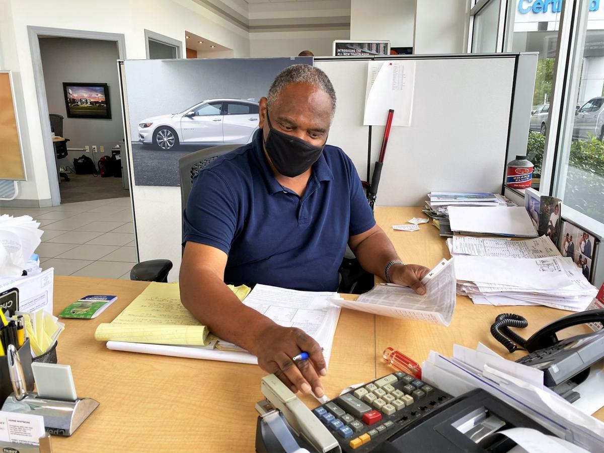 Working through COVID Car Sales