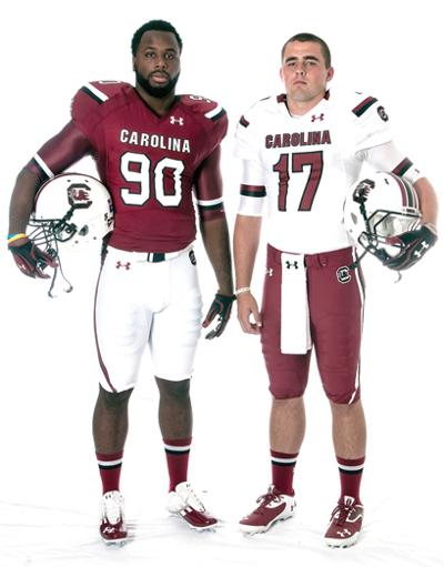 South Carolina unveils new uniforms  291fc2257