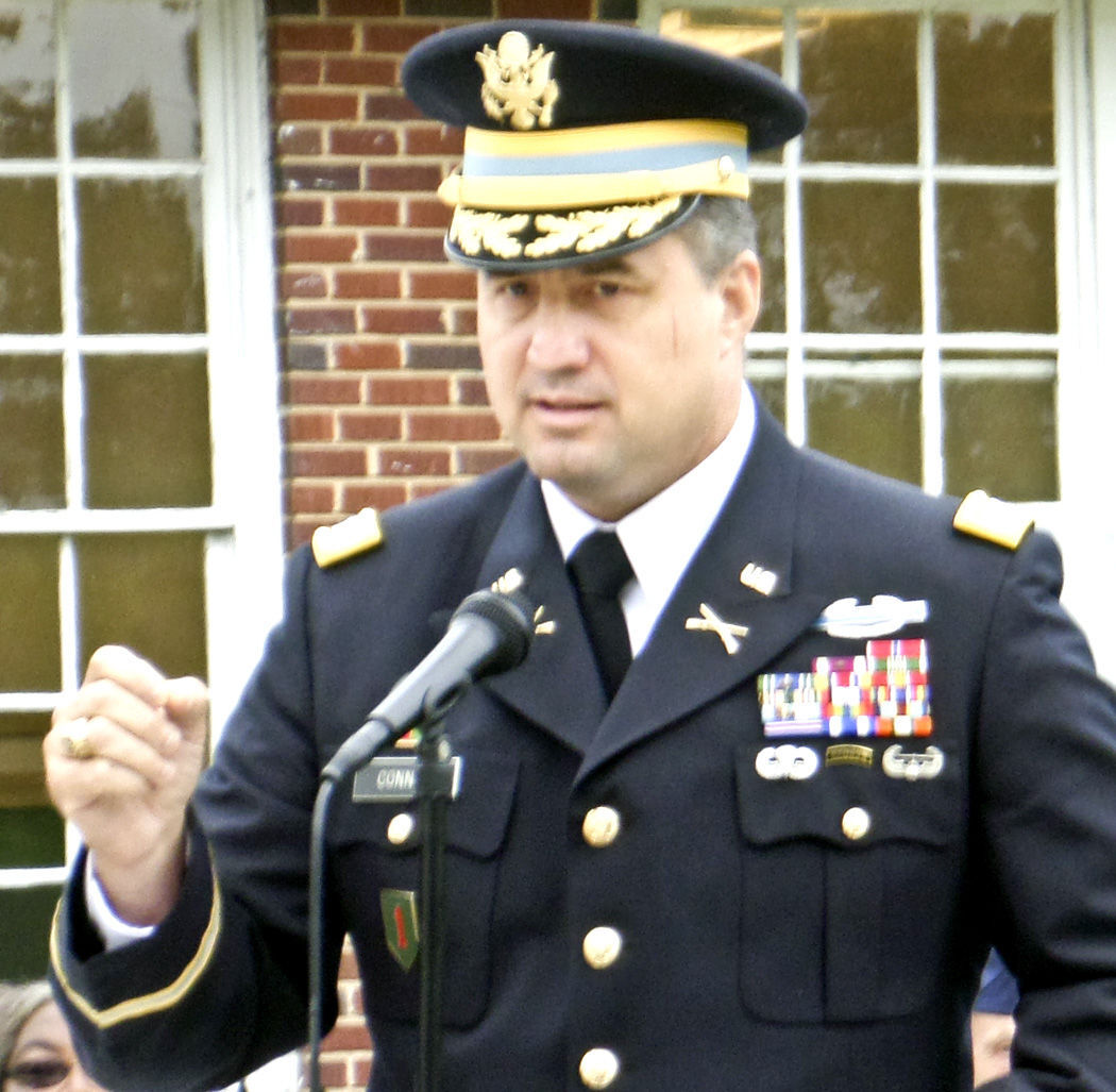 Norway Memorial Day -- Col. Bill Connor