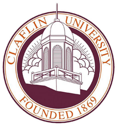 LIBRARY Claflin University seal