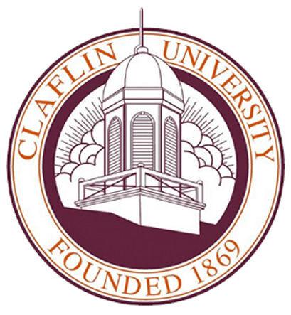LIBRARY Claflin University seal